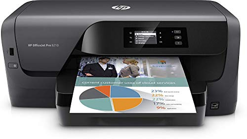 Hp Officejet Pro 8210 - Impresora, Compatible con HP PCL 6, HP PCL 5c y HP PS