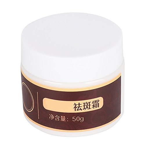 50g Crema para pecas Blanqueamiento facial Crema iluminadora Manchas Eliminación de pecas Cuidado de la piel Elimina las pecas y las manchas Suaviza la piel Nutritiva Hidratante