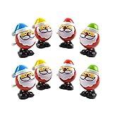 STOBOK 8 stücke Weihnachten Wickeln Spielzeug weihnachtsmann Wickeln Stocking Stuffers Weihnachtsfeier gefälligkeiten für Kinder (zufällige Farbe) -
