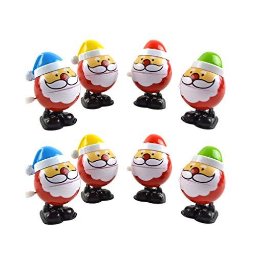 STOBOK 8 stücke Weihnachten Wickeln Spielzeug weihnachtsmann Wickeln Stocking Stuffers Weihnachtsfeier gefälligkeiten für Kinder (zufällige Farbe)