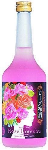 中埜酒造 ローズ梅酒 瓶720ml [7457]