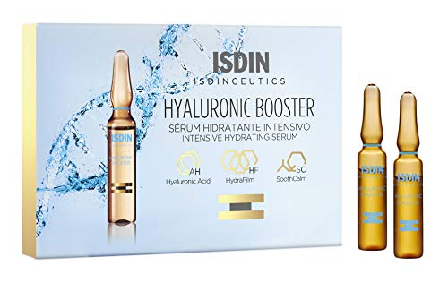 ISDIN Hyaluronic Booster Deep Hydration with Peptide Serum 10 ampoules