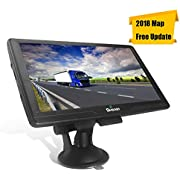 7 Inches 8 GB Sat Nav Car Truck GPS Navigation with Touchscreen Include UK and EU Latest Maps and Lifetime Free Updates