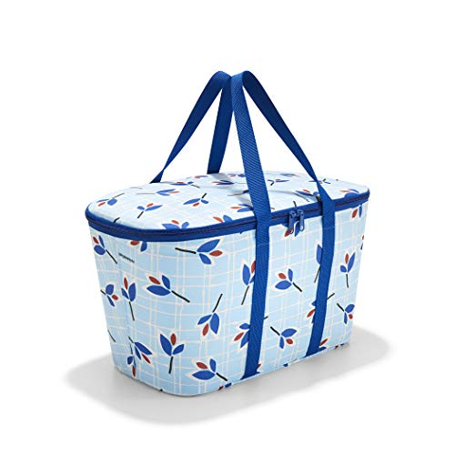 Reisenthel coolerbag Sporttasche, 44 cm, 20 Liter, Leaves Blue