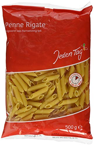 Jeden Tag Nudeln, Penne, 500 g
