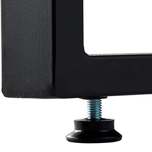 ナカバヤシスマートワークデスクW1000ダーク木目FDB-1060-DM