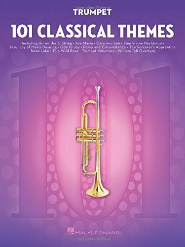 101 Classical Themes -For Trumpet- (Book): Noten, Sammelband für Trompete