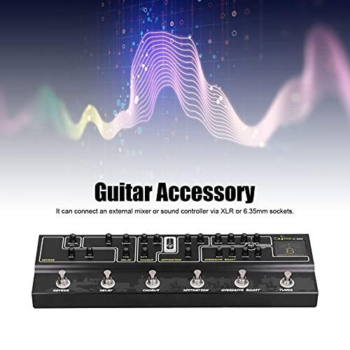 Pedal de Efectos de Guitarra, Pedal multiefectos 220V 50HZ DC 9V para Guitarra
