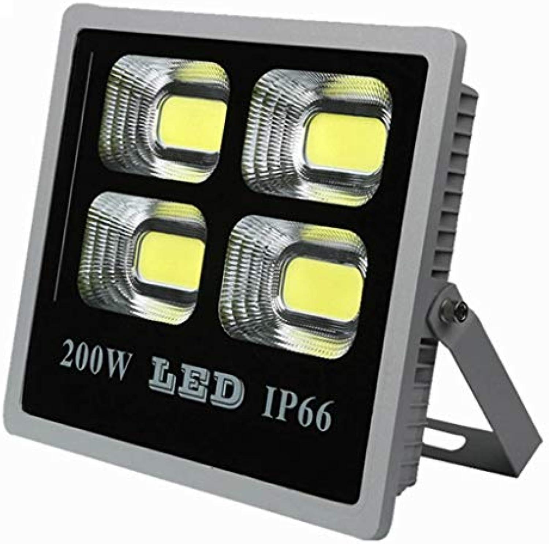Au Enleuchten 100-200W 2400lumen IP65 Wasserdicht LED Sicherheitsbeleuchtung Perfekt Zum Garten Hinterhof (Farbe   200w)