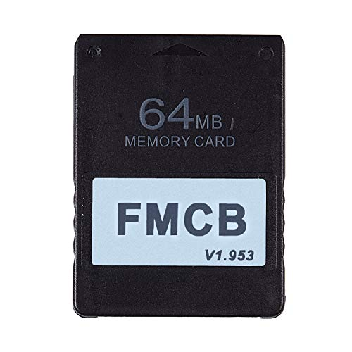 Tiamu FMCB Free McBoot Card V1.953 for PS2-2 Memory Card OPL MC Boot(64MB)