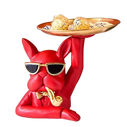 Tablett Gold Schlüsselschale Modern, Kreative Aufbewahrungsbox Für Den Schreibtisch Süße Tierskulpturen Harz Schlüssel Süßigkeitsschale Schmuck Ohrringe Halter Zuhause Wohnzimmer Schlafzimmer