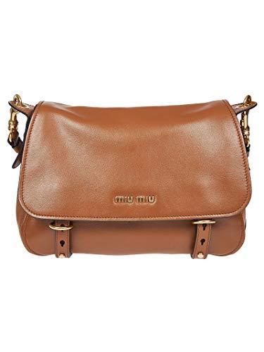 miu miu Luxury Fashion Donna 5BD1812BYAF0046 Marrone Borsa A Spalla   Primavera Estate 20