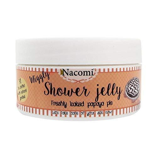 Nacomi Natural Vegan Shower Jelly Body Wash Freshly Baked Papaya Pie 100g