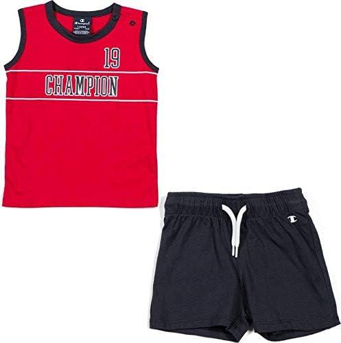 Champion Kids Clothing Set Training Tshirt Shorts Sports Fashion Boy Gym 304945R