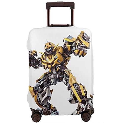 Movie Transformers Bumblebee Maleta Funda Protectora Banda Elástica Caja Protectora Anti-arañazos Las Mangas Elásticas Gruesas son Fácil de limpiar, Impreso Elegante y Lindo
