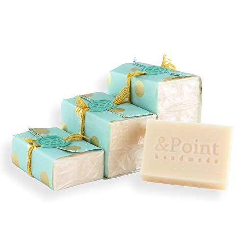 Jabón natural hecho a mano. Pastilla de jabón artesano de aceite de...