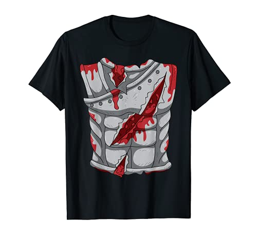 Spartan Warrior Gladiator Zombie, disfraz de Halloween Cosplay Camiseta
