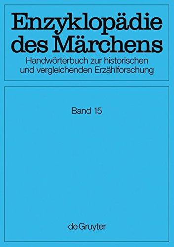 Enzyklopädie des Märchens / Verzeichnisse, Register, Corrigenda