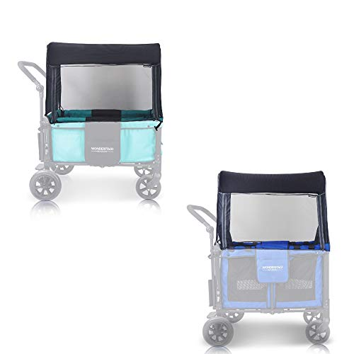 WonderFold Wagon Mosquito Insect Bugs Net Netting Accessory for Model W1 and W2 Double Stroller Wagon