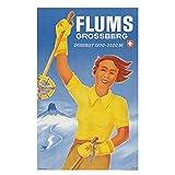 AZTeam Schweiz St.Gallen Tourismus Poster Flums Grossberg