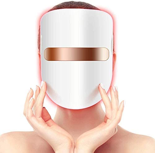 Hangsun Light Therapy LED Mask Unlimited Sessions For Facial Skin Care Individually Lights of product image