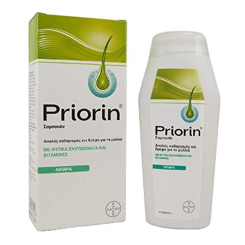 Bayer Priorin Anti Hair Loss Shampoo For Oily Hair 200ml