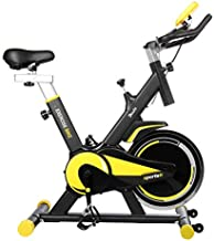 Indoor Cycling Bike Stationary, Doufit EB-09 Exercise Bike for Home Workouts Use, Belt Drive Gym Bicycle with 40Lbs Flywheel, Comfortable Seat Cushion and Tablet Holder
