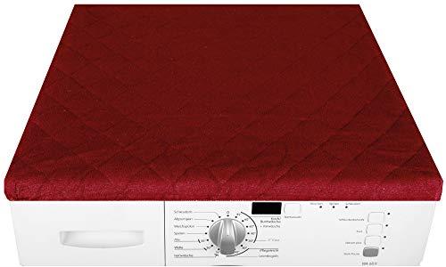Bestgoodies Trockner und Waschmaschinenbezug 60x60cm in (Rot)