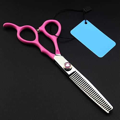 Acier Inox pour Cheveux Coiffure Coiffeur Ciseaux Barber Salon, Kit Ciseaux,toothcut6inch