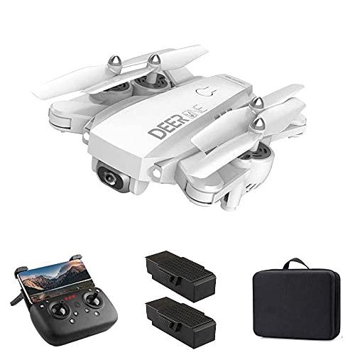 5G WiFi FPV GPS Drone, cámara 4K UHD y 1500 Metros de Vuelo RC Quadcoptere, 20 + 20 Minutos de Tiempo de Vuelo, Nivel 7 de Resistencia al Viento, Retorno automático a casa