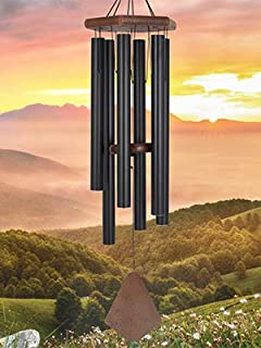 """ASTARIN Amazing Grace Wind Chimes,36"""" Large Wind Chimes Deep Tone Tuned Relaxing Soothing Melody,Sympathy Wind Chimes Moth..."""