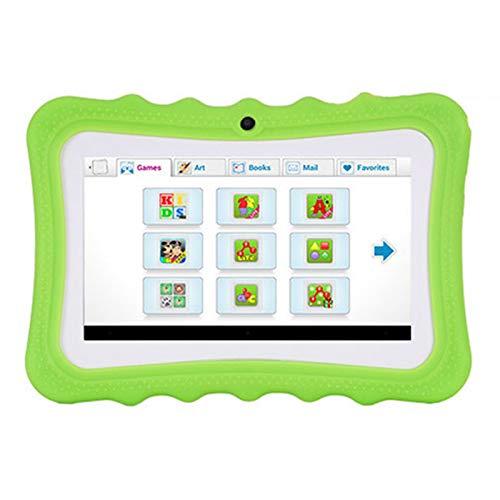 QCBC Toque Tableta de 10,1 Pulgadas, 1GB RAM 16GB ROM Almacenamiento, Procesador de Ocho núcleos, Pantalla IPS HD 10.1 IPS, Micro HDMI, Tabletas Android Wi-Fi, Cuerpo Metal,Verde