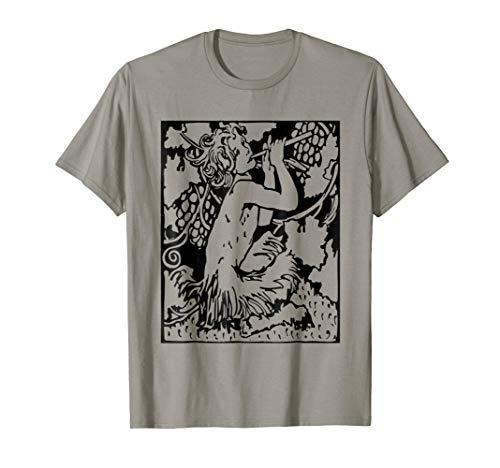 Pan God T-Shirt Greek Mythology Ancient Greece Faun Satyr
