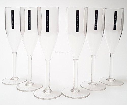 Scavi & Ray Gläser-Set - 6x Prosecco Gläser