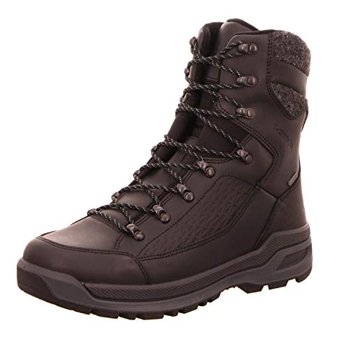 Lowa Renegade EVO Ice GTX, Zapatos de High Rise Senderismo Hombre, Negro (Nero 0999), 44 EU