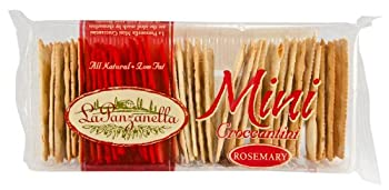 La Panzanella Rosemary Mini Croccantini 6 Ounce Packages  Pack of 12