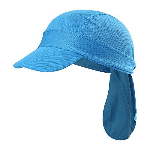 Radkappe, Helm, Liner, Hut mit UV-beständiger Krempe -  Blau -  Regulär