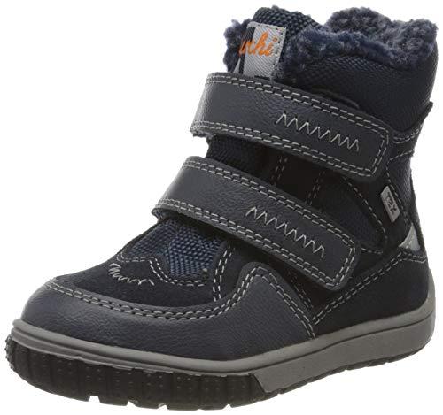 Lurchi Baby Jungen JAUFEN-TEX Stiefel, Blau (Navy 22), 23 EU