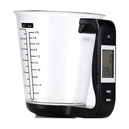 1000g//1g 600ML Kitchen Measuring Cup Scale Multifunctional Digital LCD Display