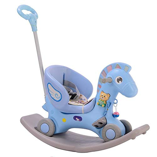 Learn More About YUMEIGE Rocking Ride-Ons Boy Girl Rocking Animal ,Kid Riding Toys/Horse、PP Material、Children's Rocking Toy,Indoor and Outdoor Sports、Rocking Horse,Riding Toys 、Children Gifts