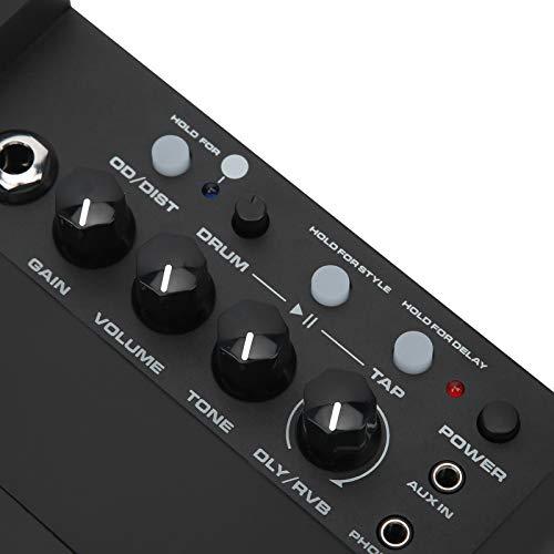 Amplificador de guitarra eléctrica NUX, 3 W, 3 canales de interfaz AUX...