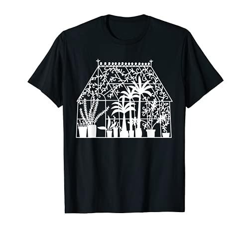 Gewächshäuser-Garten-Design T-Shirt