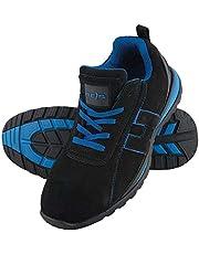 Reis BRCHILE45 - Calzado de Seguridad, Color Negro y Azul, Talla 45
