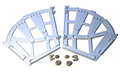 IHC Herraje giratorio para zapatero con mecanismo de cierre