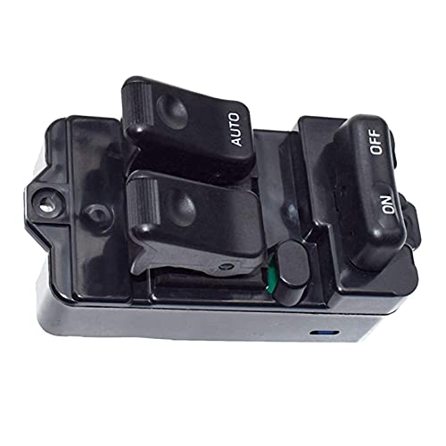 XINGXING WTQEE Store Adatta per Mazda 323F Bongo 1994-1998 95 96 RHD Power Master Window Window Switch Console S09A-66-350A09. (Color Name : Black)