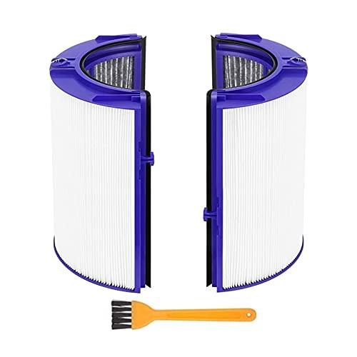 SONGHUA 11 HEPA Filtrar la Pieza de Repuesto Ajuste para Dyson TP06 HP06 PH01 PH02 Purificador de Aire Verdadero HEPA Conjunto de filtros Compare con la Parte 970341-01 (Color : Wit) ⭐