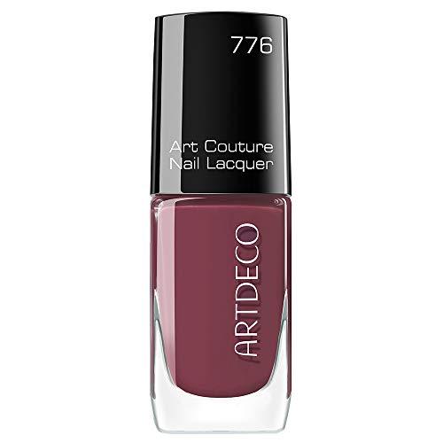 Artdeco Art Couture Unisexe Vernis à ongles, vernis à ongles, couleur : 776 couture Red Oxide, 1er Pack (1 x 51 g)