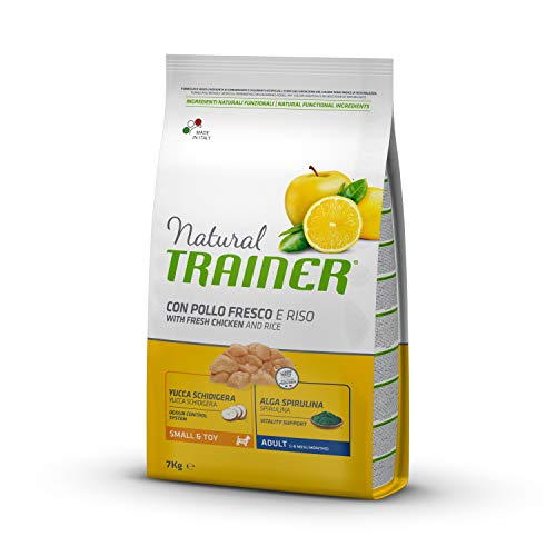 Trainer Natural Cibo per Cani Small & Toy Manzo e Riso 7kg