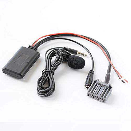 Car Stereo CD Changer Microphone Kit Phone Call Hands Free Adapter Bluetooth Aux Cable for Honda Civic CRV