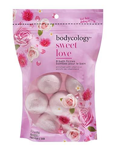 Bodycology Sweet Love Bath Faire tremper fizzies Bombes 8-2.1 Balles Oz